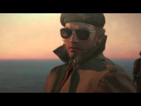 ASHES SCENE-METAL GEAR SOLID V THE PHANTOM...