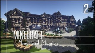 Minecraft Build Review - Insane Traditional Mansion