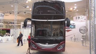 Mercedes-Benz MCV 800 Bus Exterior and Interior in 3D