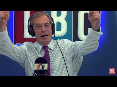 The Nigel Farage Show On Sunday: Should May be leading Brexit? 1/2 Live LBC - 8th October 2017
