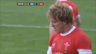 Andy Powell comedy run vs Italy 2009