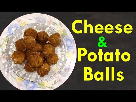 Cheese and Potato Balls ( snacks) | Easy snacks recipes | Telugu Recipes Vegetarian Snacks