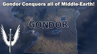 Gondor takes over Middle-Earth (Hoi4 Lord of the Rings Mod Speedrun/Timelapse)