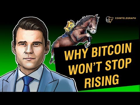Alex Tapscott On Why Bitcoin Won't Stop Rising