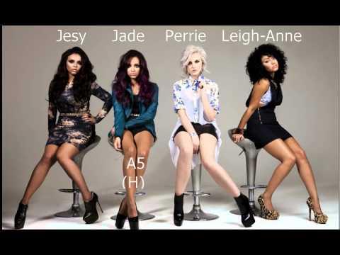 Little Mix Vocal Range: C#3 - A5 - C6(E6)