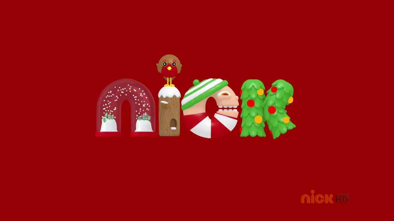 Nickelodeon HD UK - Christmas Idents 01.12.2013 - YouTube