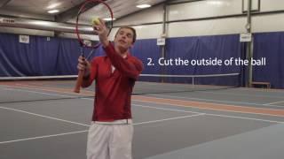 Tennis Pro Tips:  Slice Serve