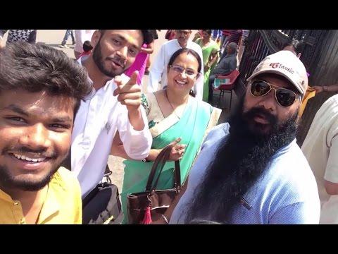 Vlog -2! Minion voice, travelling & meeting Beard RAJA .