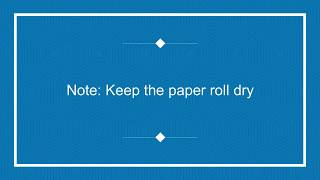 How To Reload Paper Roll