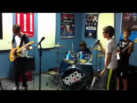 School of Rock Kids Covering Poison City by OFF!
