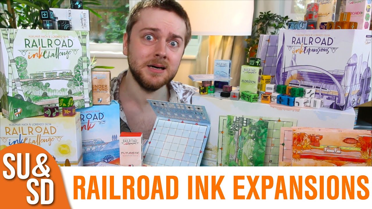 Reviewing ALL 28 Railroad Ink Expansions!