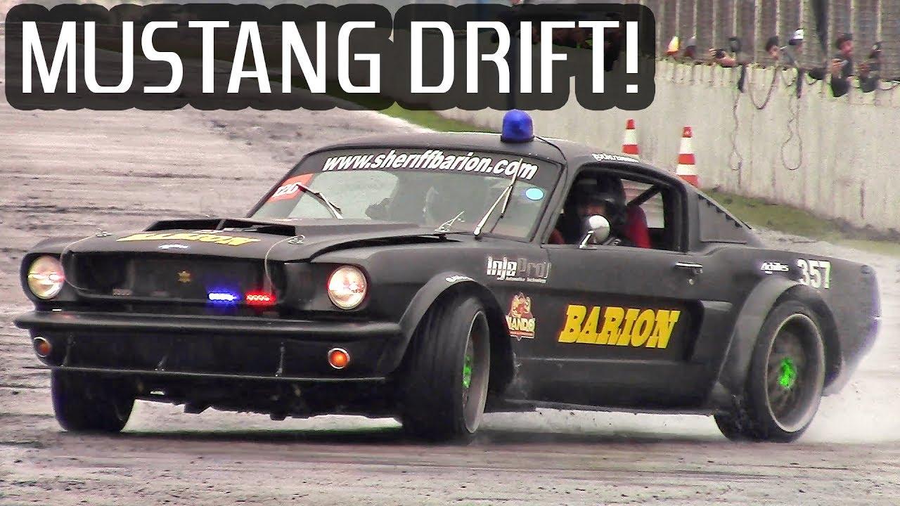 667whp drift mustang 1965 motor show part 1