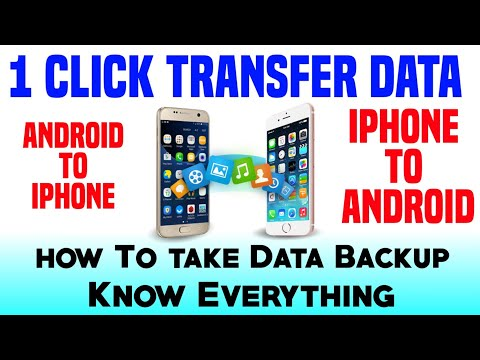 Phone Ka Backup Kese Lete Hai? Data Transfer Kese Kare iPhone To Android || Recover Deleted File