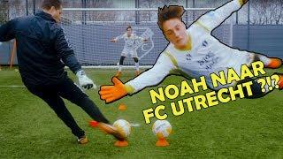 Gaat Noah Zeeuw profvoetballer worden? Eerste training bij FC Utrecht is een feit !!!