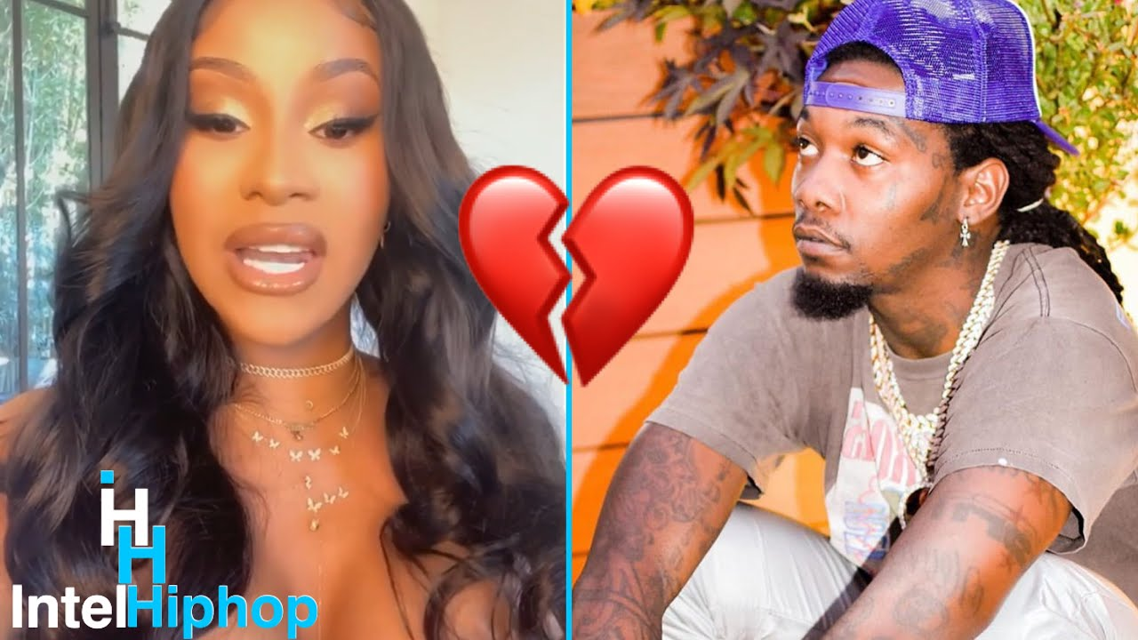 Cardi b tells the real reason why she's divorcing offset 👀