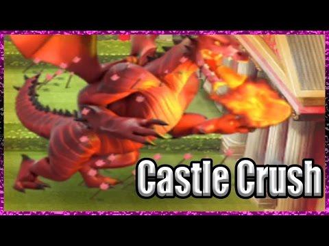 Castle Crush - Growing a HUGE DRAGON!!!