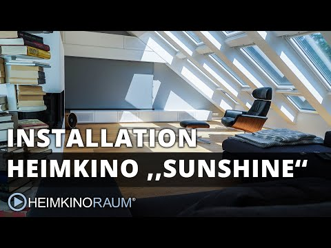 Heimkino ''SUNSHINE'' – made by HEIMKINORAUM Stuttgart
