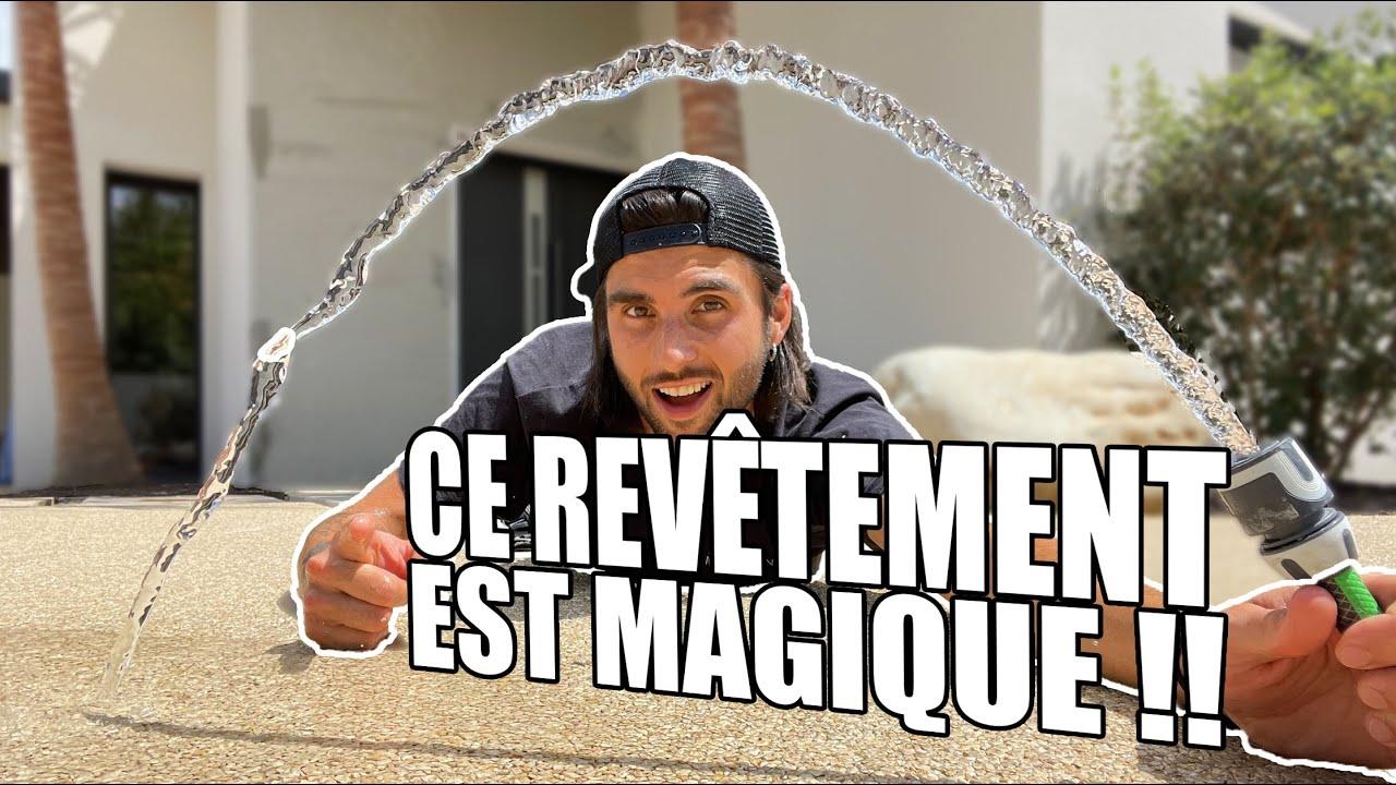 """Revêtement de l'allée ! Cette solution est MAGIQUE! Ep 7 """" VILLA OLEA"""" #HYDROWAY"""