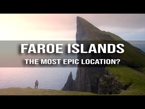 EPIC Landscape Photography hike to Mýlingur | Faroe Islands | 4K