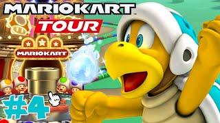 Mario Kart Tour: GOLD PIPE on Hammer Bro Tour!! - Part 4
