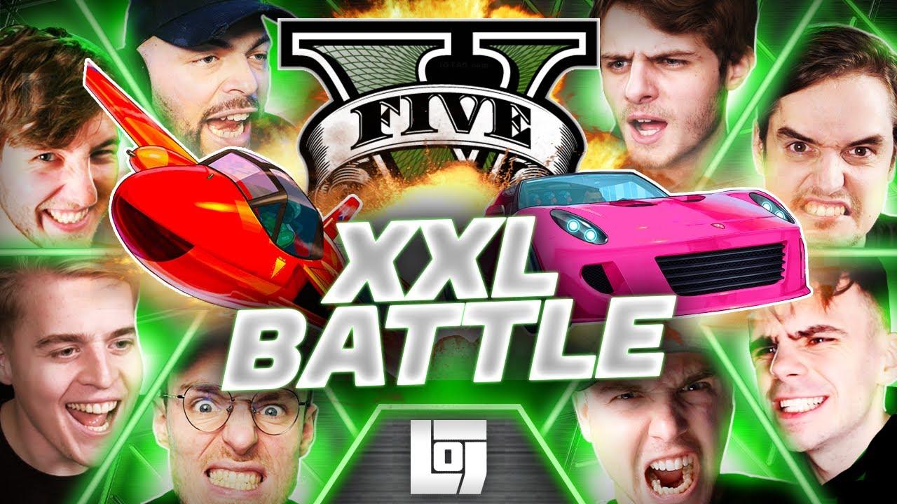 Download LOGS5 | GTA TRANSFORM RACE met ALLE LEGENDS | XXL BATTLE