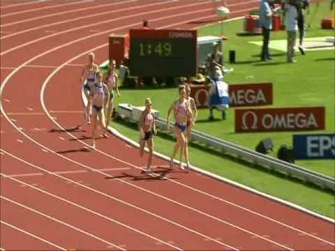 Jenny Meadows - Athletics European Cup Annecy 210608