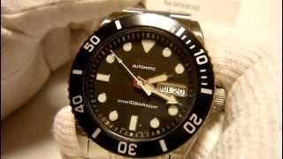 セイコー SKX031K  SEIKO ダイバー 腕時計 自動巻き メンズ