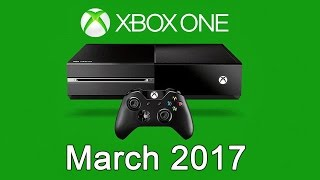 XBOX ONE Free Games - March 2017