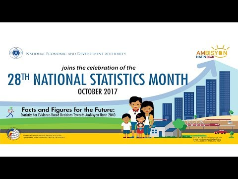 National Statistics Month 2017