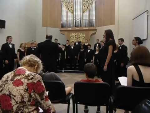 Northern Kentucky University Choir - Concert part 1