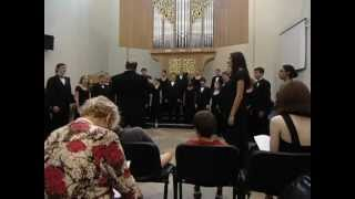Northern Kentucky University Choir - Concert part 1