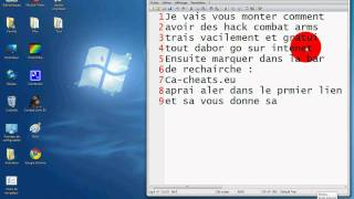 Comment avoir de Hack combat Arms !!
