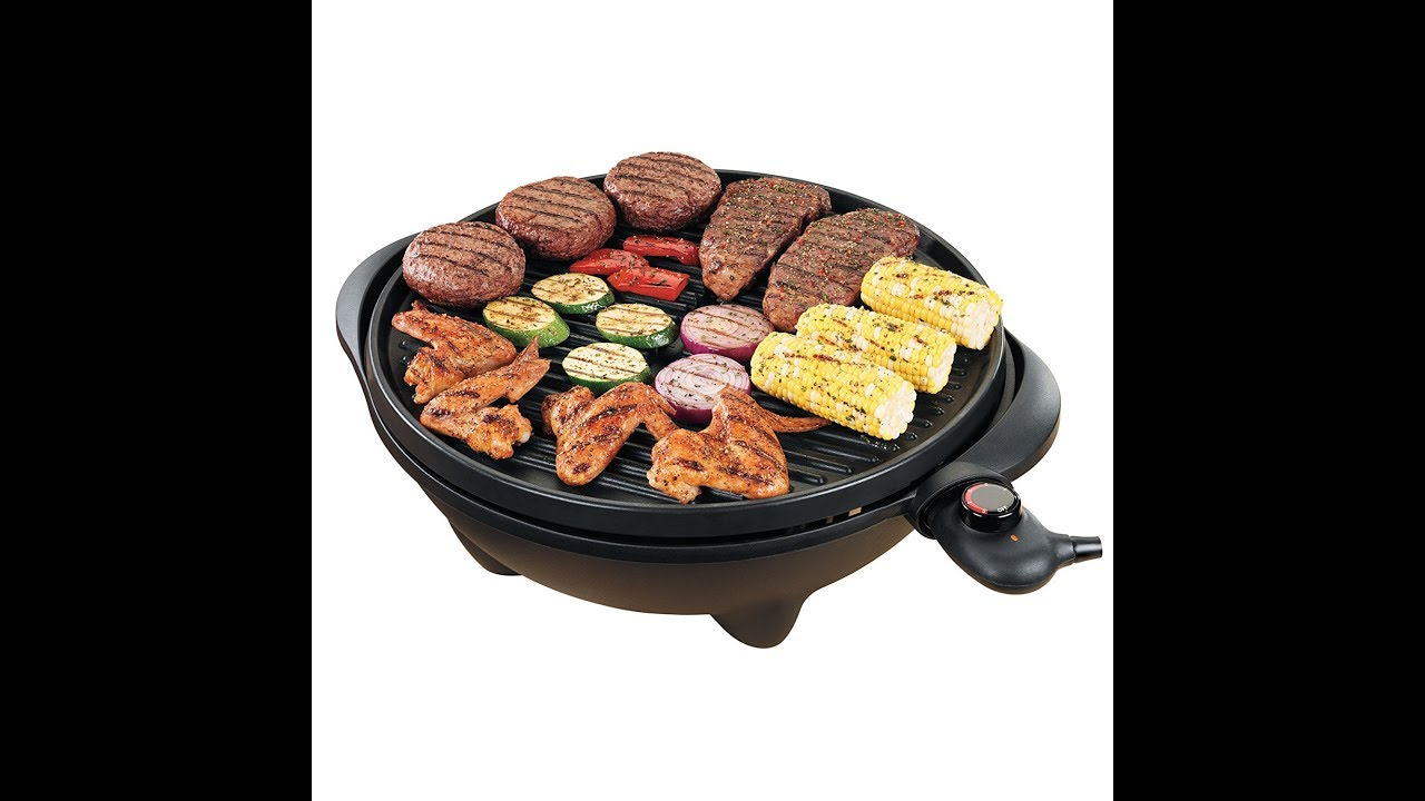 dcb6412c447 Review  George Foreman GGR50B 15-Serving IndoorOutdoor Electric Grill