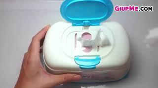Đánh giá sản phẩm hộp khăn ướt tiện lợi Bobby cho mẹ và bé [kienthuconline247.com]