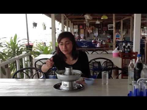 แนะนำ สถานที่ท่องเที่ยว และ ร้านอาหาร ริมแม่น้ำโขง อำเภอ สังคม จังหวัด หนองคาย ( เจ๊นาต้นเดื่อ )
