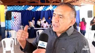 Na convenção do PL e Progressistas de Quixeré, o ex prefeito Pitiúba fala de seu apoio.