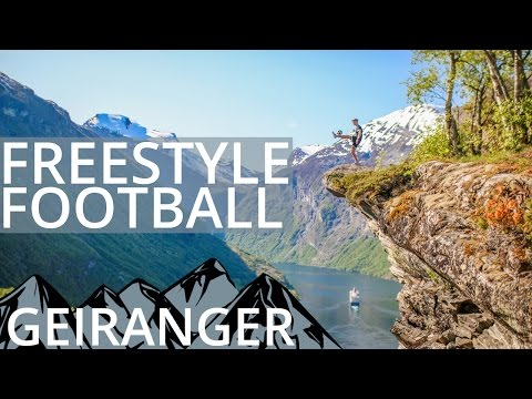 Freestyling with Renault in BEAUTIFUL Geiranger, Norway (Vlog)