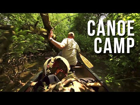 River Island Canoe Camping, in Hammocks. | Adventure Film