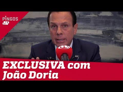 EXCLUSIVO: João Doria Fala à Jovem Pan Sobre Combate Ao Coronavírus