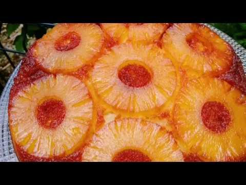 recette-renversÉ-À-l'ananas-rÉussi-!-(astuce-pour-un-beau-caramel)
