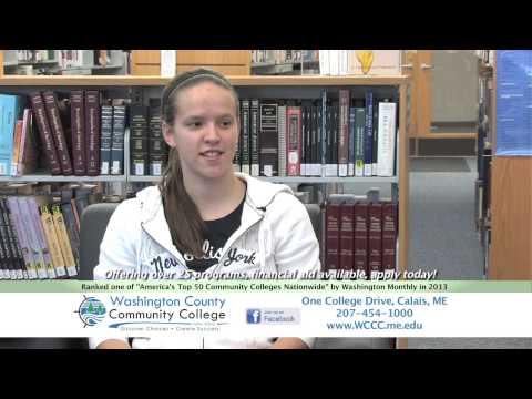 "Washington County Community College: ""Where you need to be"" Feb 2014"