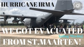 EVACUATED from St. Maarten! Hurricane Irma - Sailing Mischief