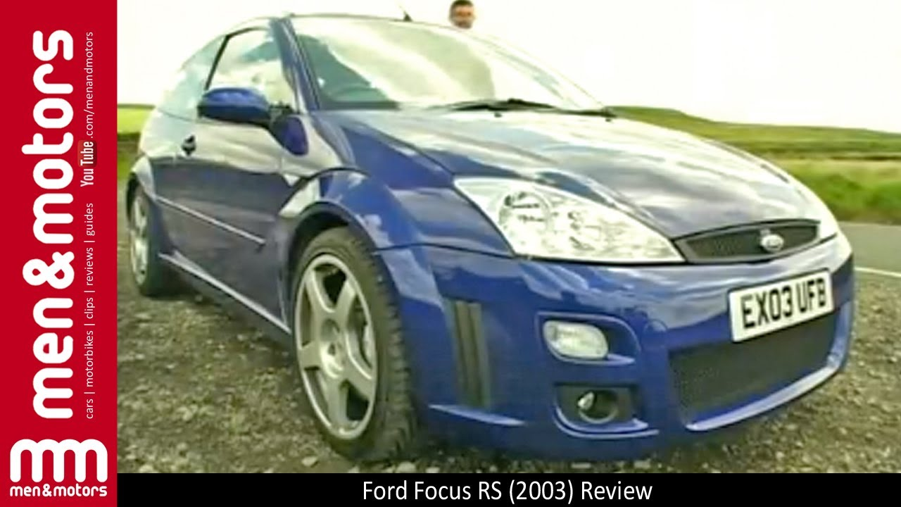 Ford focus rs 2003 review youtube
