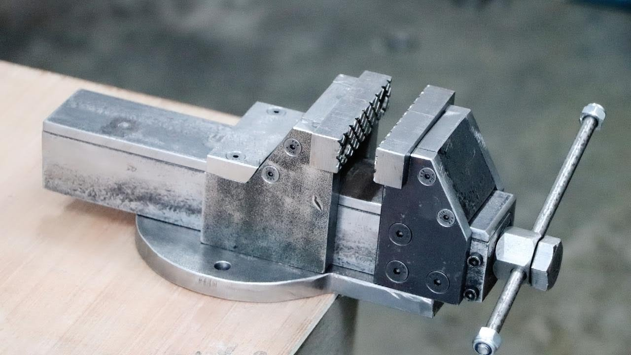 """HEAVY DUTY Jefferson 8/"""" 200mm Jaw Workshop Bench Engineer Vice"""