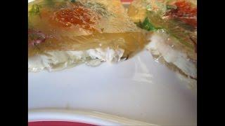 видео Заливное из рыбы с желатином, пошаговый рецепт, какая рыба лучше