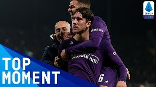 Vlahovic's Stunning Solo Goal in Stoppage Time! | Fiorentina 1-1 Inter | Top Moment | Serie A TIM