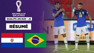 Résumé : Neymar et Paqueta portent le Brésil au Paraguay