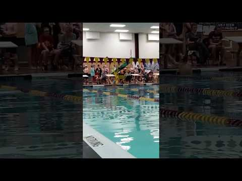 Pike Central Middle School - 50 yard backstroke