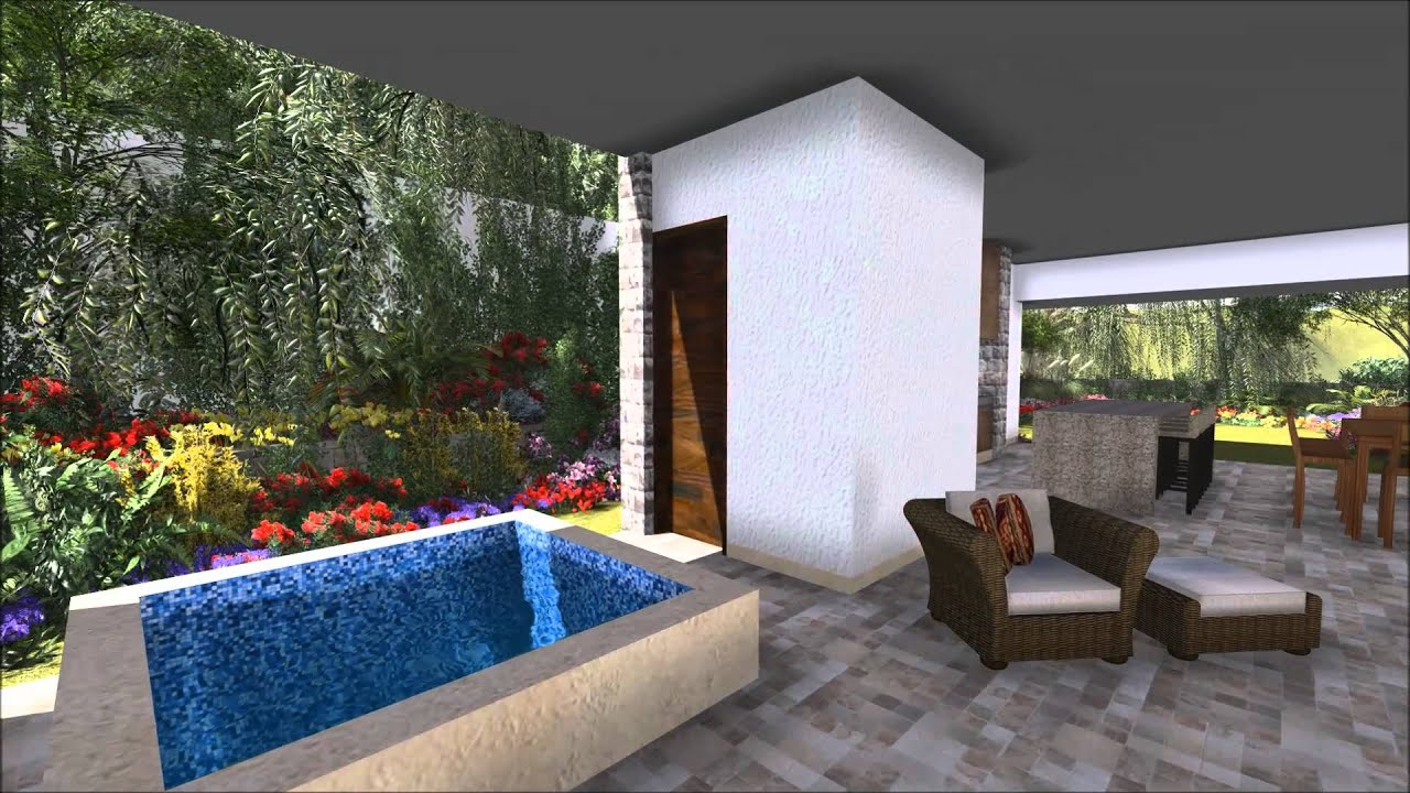 Casa del patio central youtube - Patios de casas ...