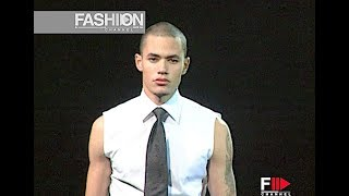 VERSACE Fall 2000/2001 Menswear - Fashion Channel